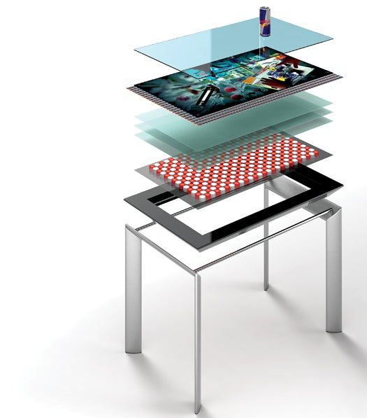How It Works: A Tabletop That Sees and Responds to What's Put On It