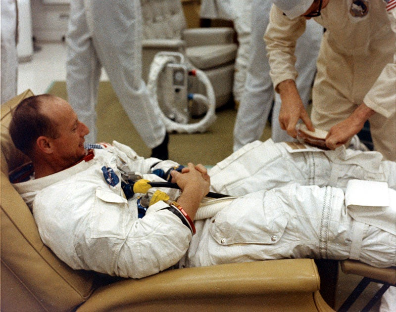 Apollo 12'S Was A Launch With Lunches And Lightning Strikes
