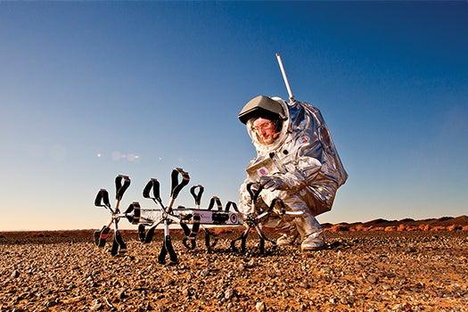 Megapixels: A Mars Simulation In The Sahara