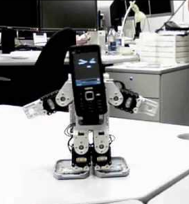 Robots Made Out of Cell Phones Dance, Cry, Throw Tantrums, and Talk to Each Other