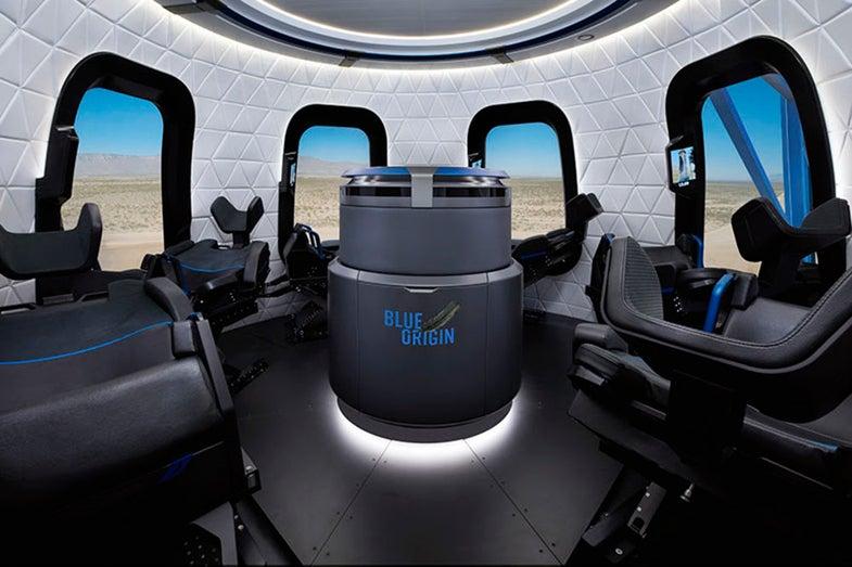Blue Origin's capsule