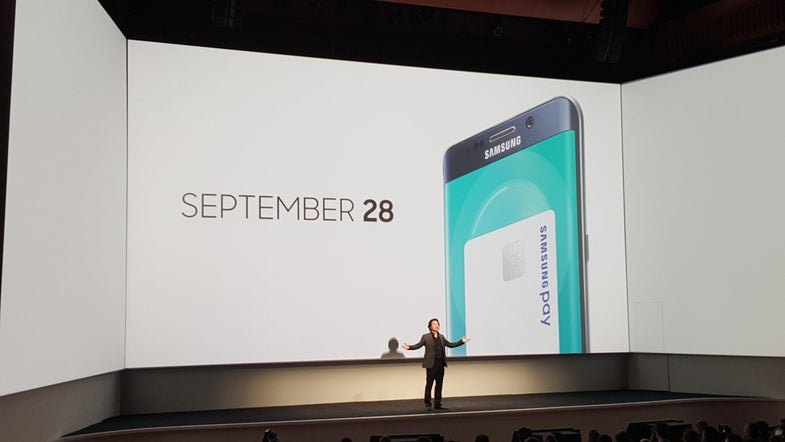 Samsung Updates Touchwiz with Samsung Pay, Live Stream App, and SideSync For Mac