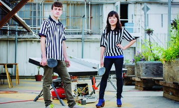 You Built What?! A Flashing, Tilting Ping-Pong Table to Throw Off Opponents