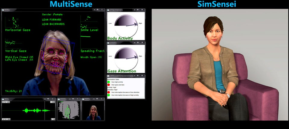 DARPA's Virtual Therapist Is 'Like Talking To A Dog'