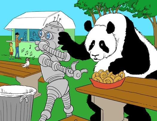 This Week In The Future: Panda Versus Robot