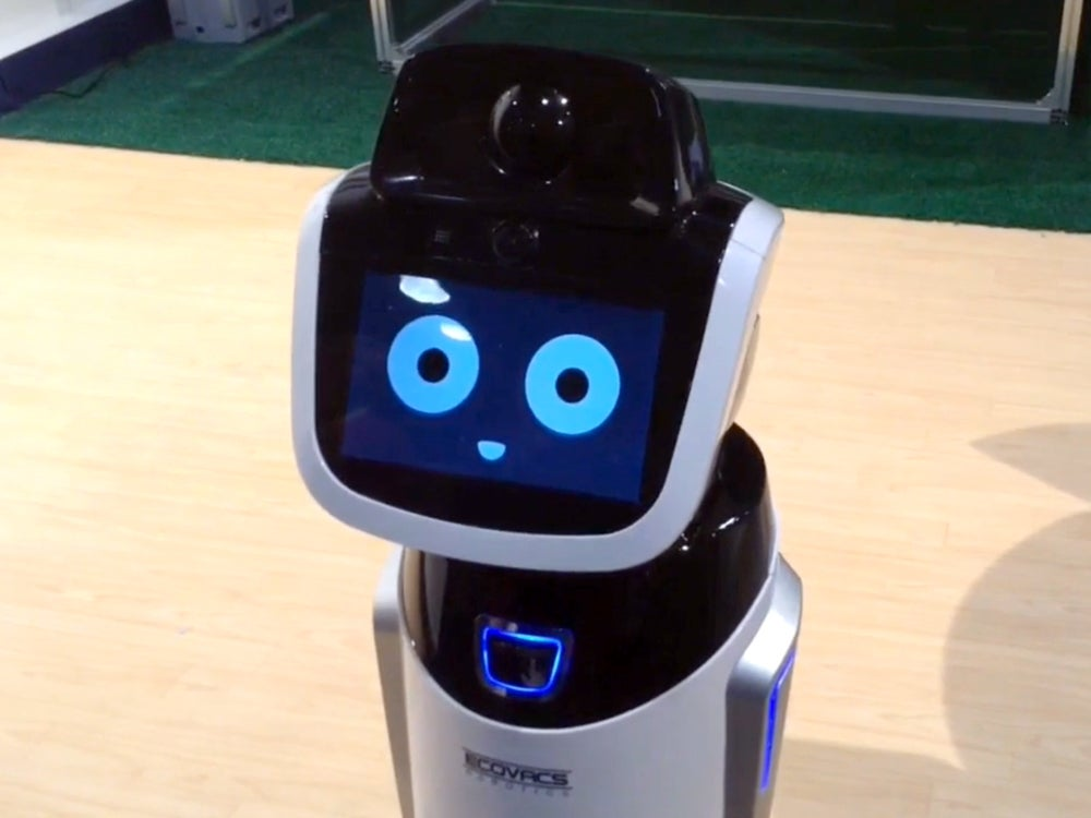 CES 2015: Benebot Is An Ultra-Cute Robotic Shopping Assistant [Video]