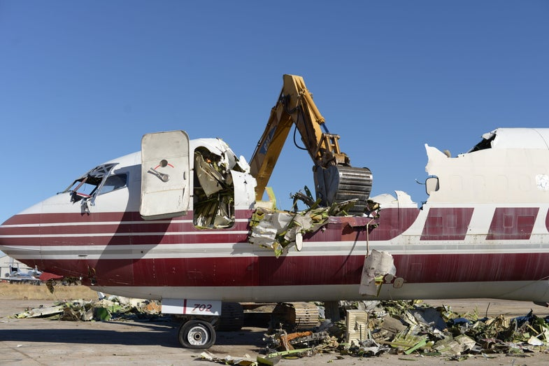 Where airplanes go to die—and be reborn