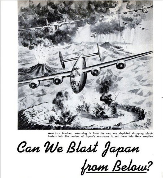 Can We Blast Japan From Below?: January 1944