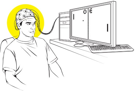 "A Brainwave-Controlled Version of ""Pong"""
