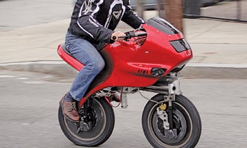 Reinvention of the Month: An Electric Unicycle Transforms Into a Safer Two-Wheeler