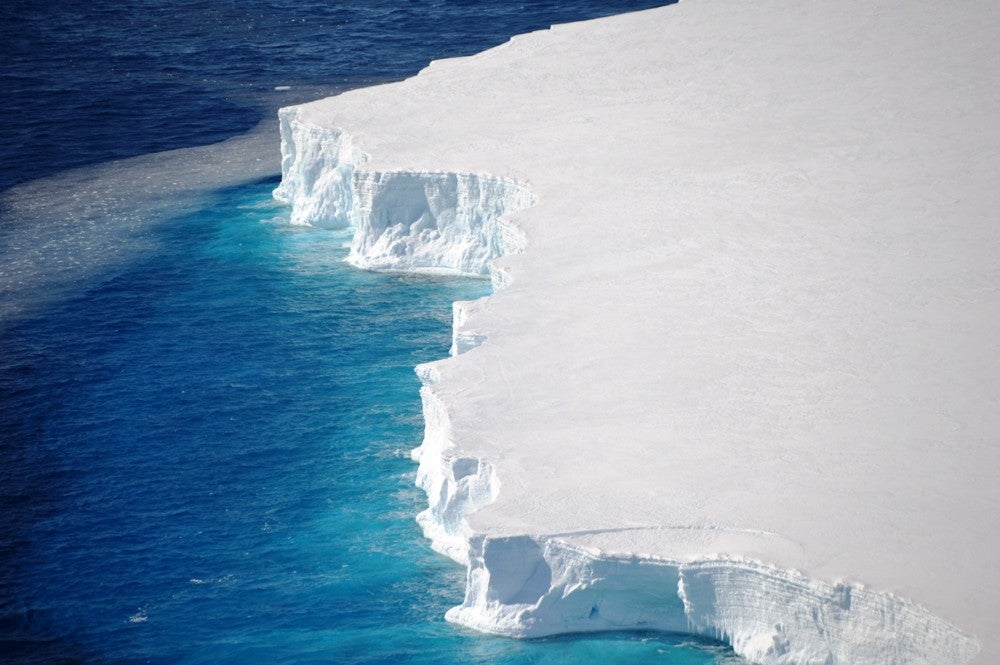 The Nansen Ice Shelf