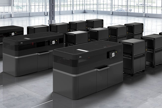 3-D printing production system