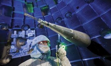 The National Ignition Facility Just Got Way Closer To Fusion Power