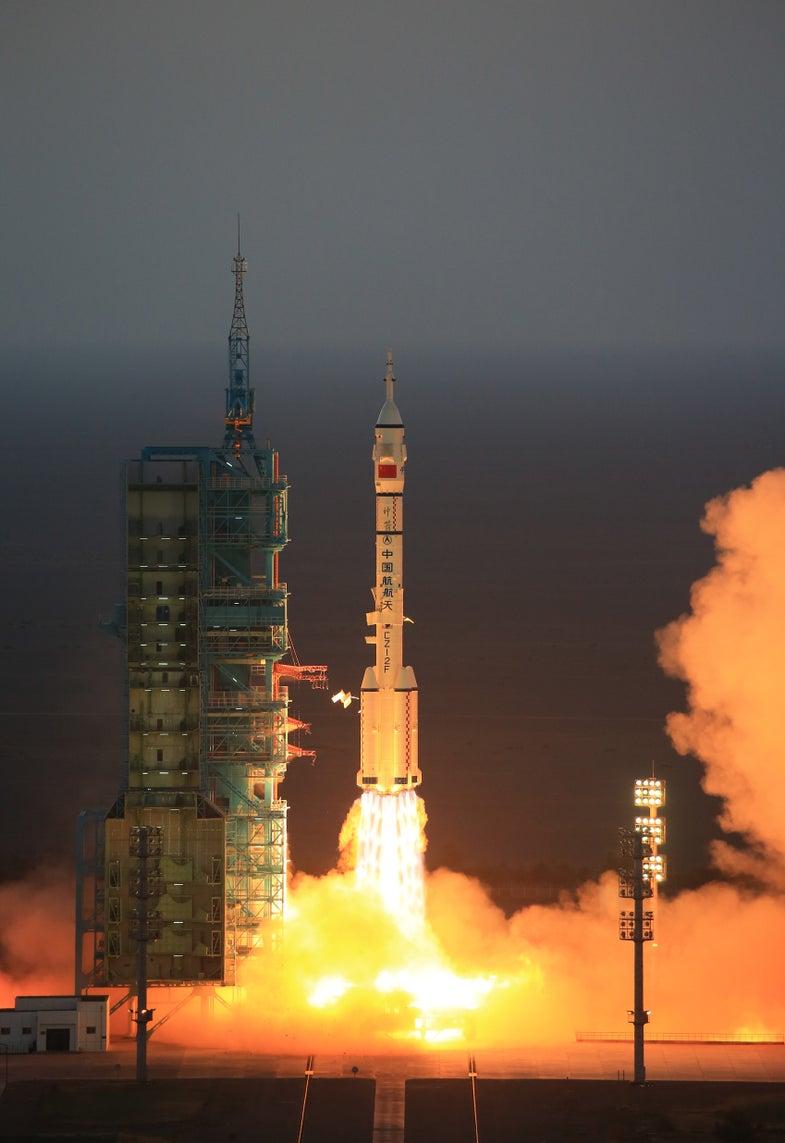 China Space Program Taikonaut Shenzhou 11 Tiangong 2
