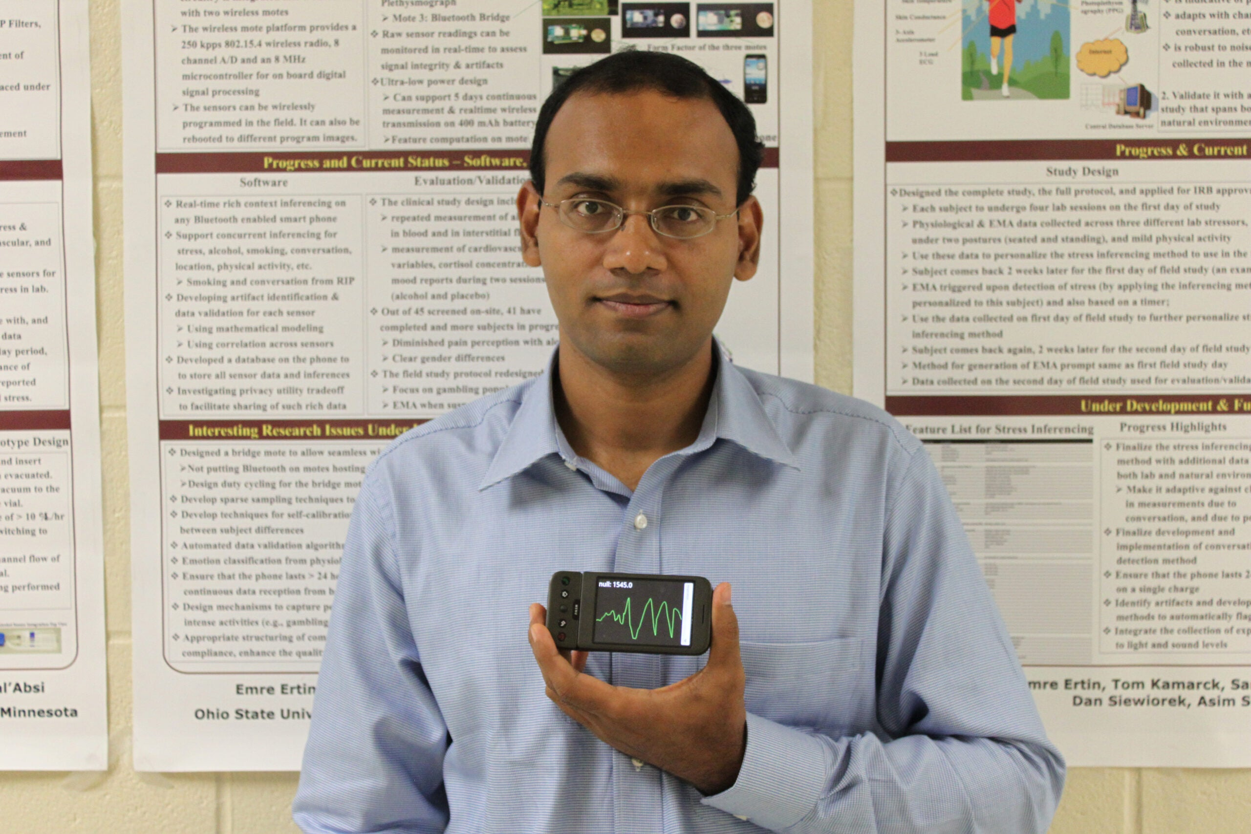 Brilliant 10: Santosh Kumar, the Sensor Guru