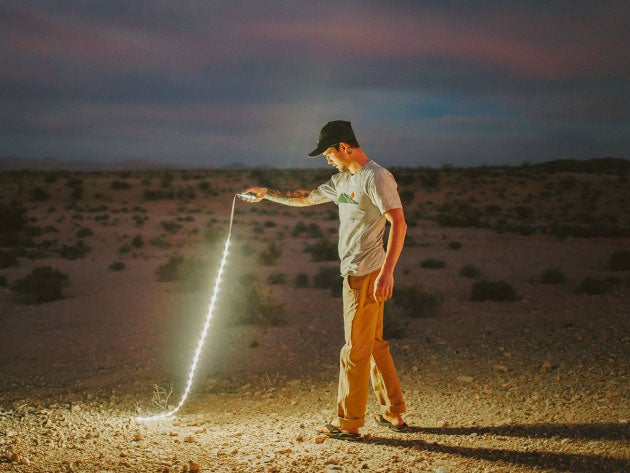 This LED string light and power bank is the perfect camping accessory