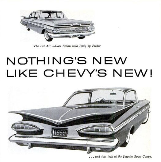 Archive Gallery: Classic Car Advertisements from the Pages of PopSci