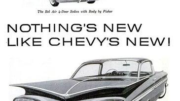 '59 Chevrolet: November 1958