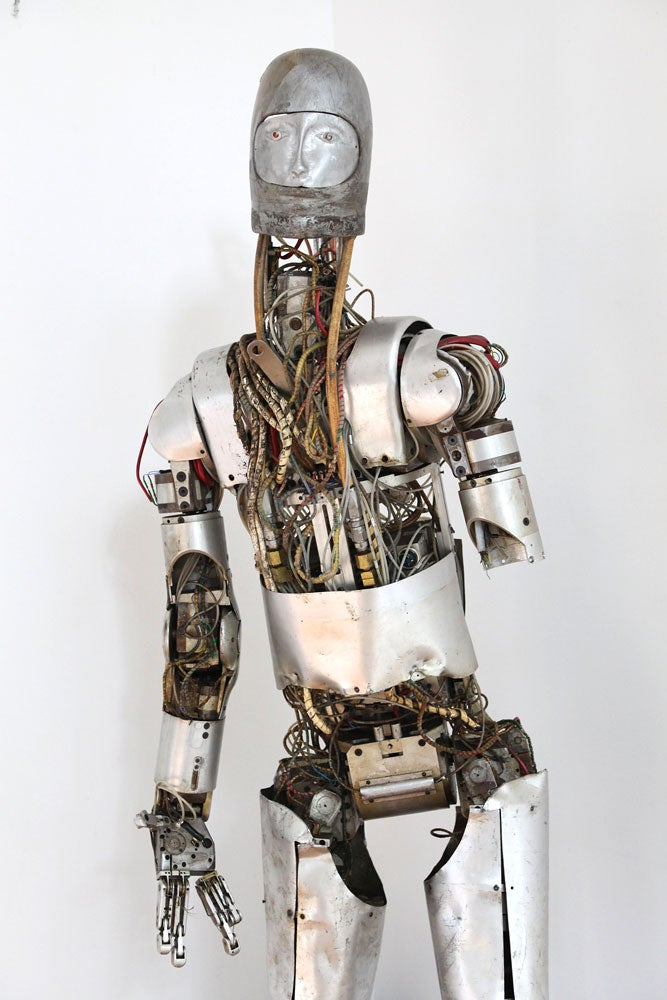 The motor driven articulated dummy