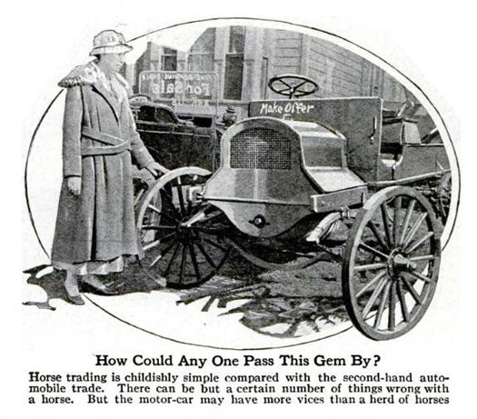 Archive Gallery: PopSci Witnesses The Early Days of the Automobile