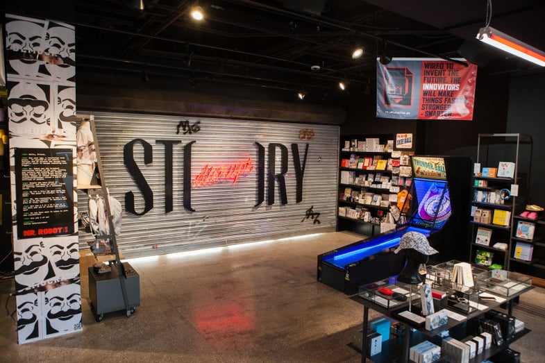 'Mr. Robot' Took Over A Store, And We Went Inside