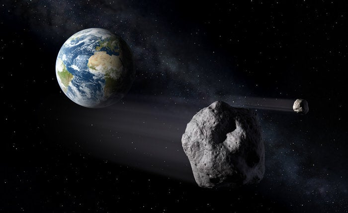 Asteroids Are Much Weaker Than Earth Rocks