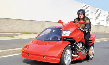 You Built What?! The Luxury Motorcycle Sidecar