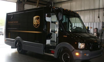 UPS's Prototype Plastic Delivery Trucks Reduce Weight and Increase Mileage
