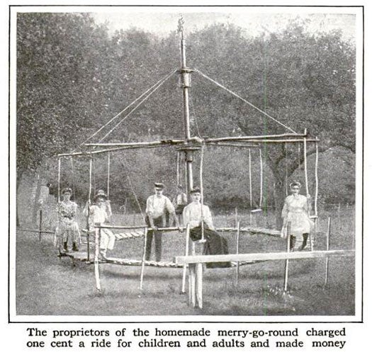 Backyard Merry-Go-Round: September 1917