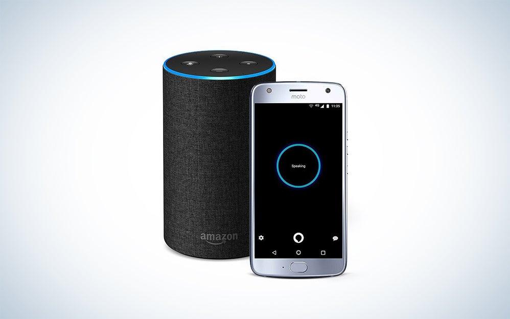 Moto X Motorola smartphone and Amazon Echo bundle