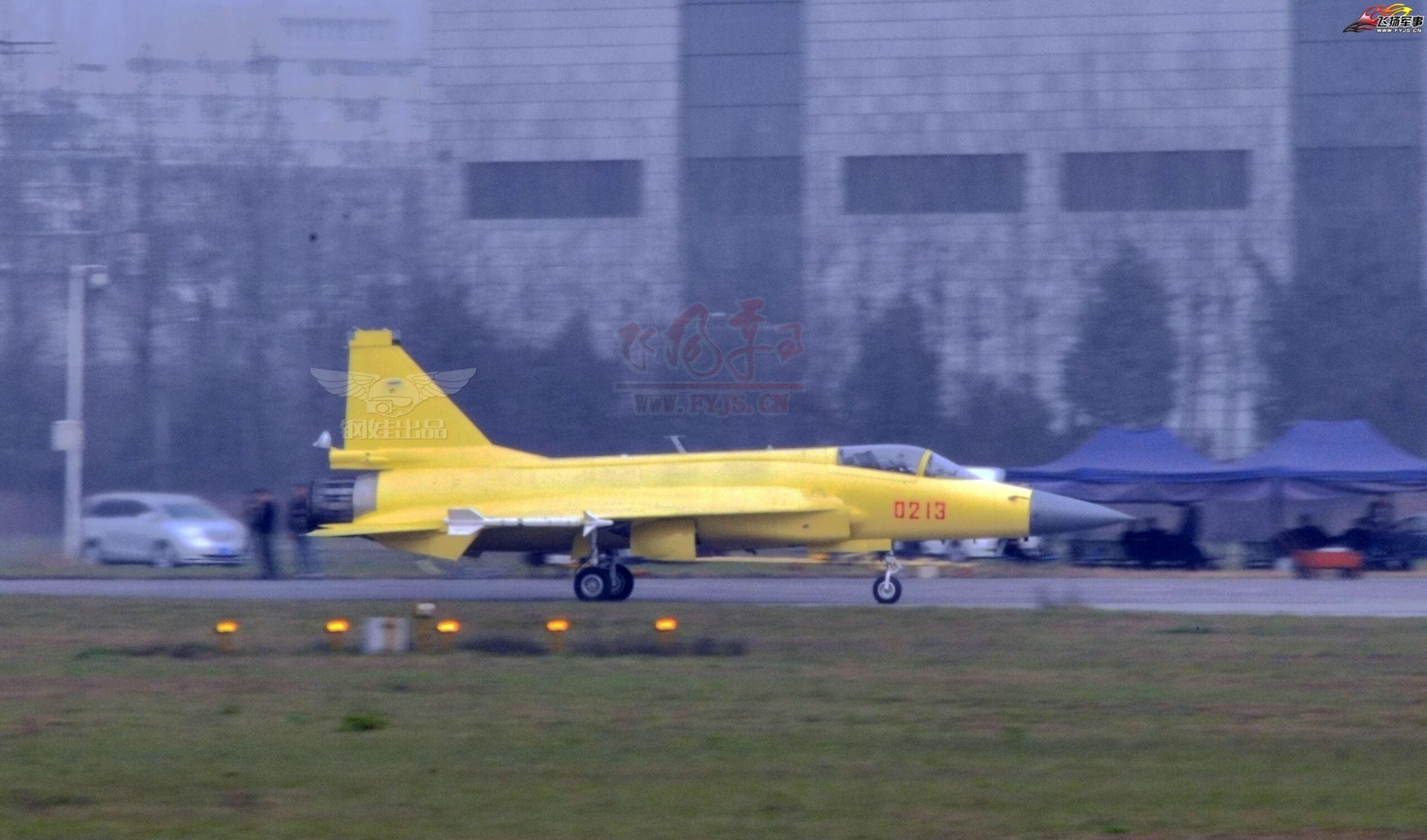 China's Military Reboots 'Fierce Dragon' Jet Fighter With Homebuilt Model