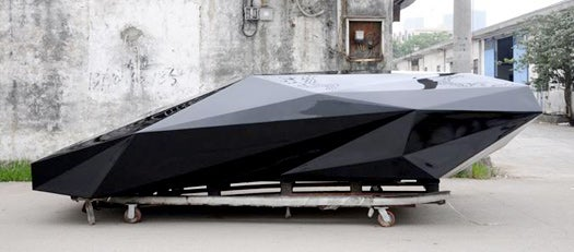 Nifty Low-Res Design Process Drops Polygons From Lamborghini Countach, Beauty Ensues