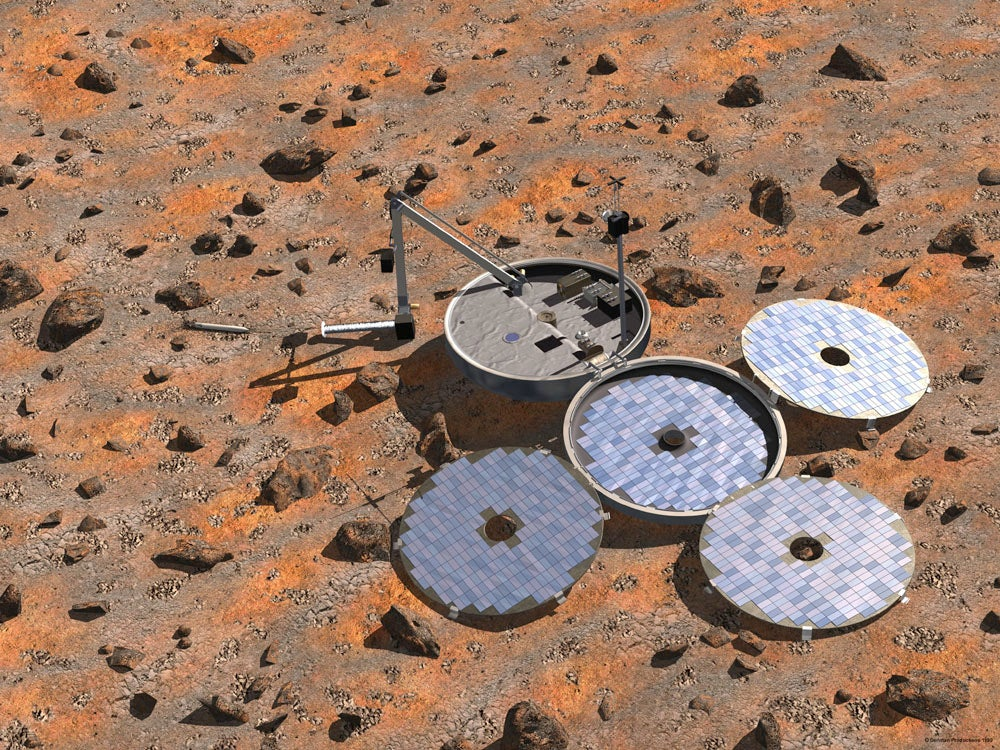 The ill-fated Beagle 2 may have landed on Mars after all