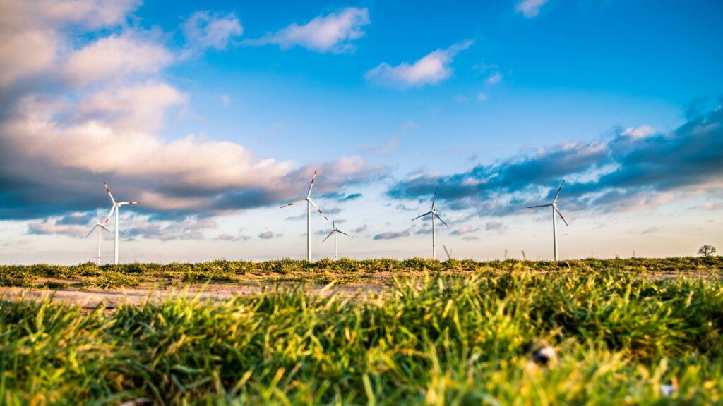 China produces the vast majority of neodymium and dysprosium, two metals used in wind turbines.