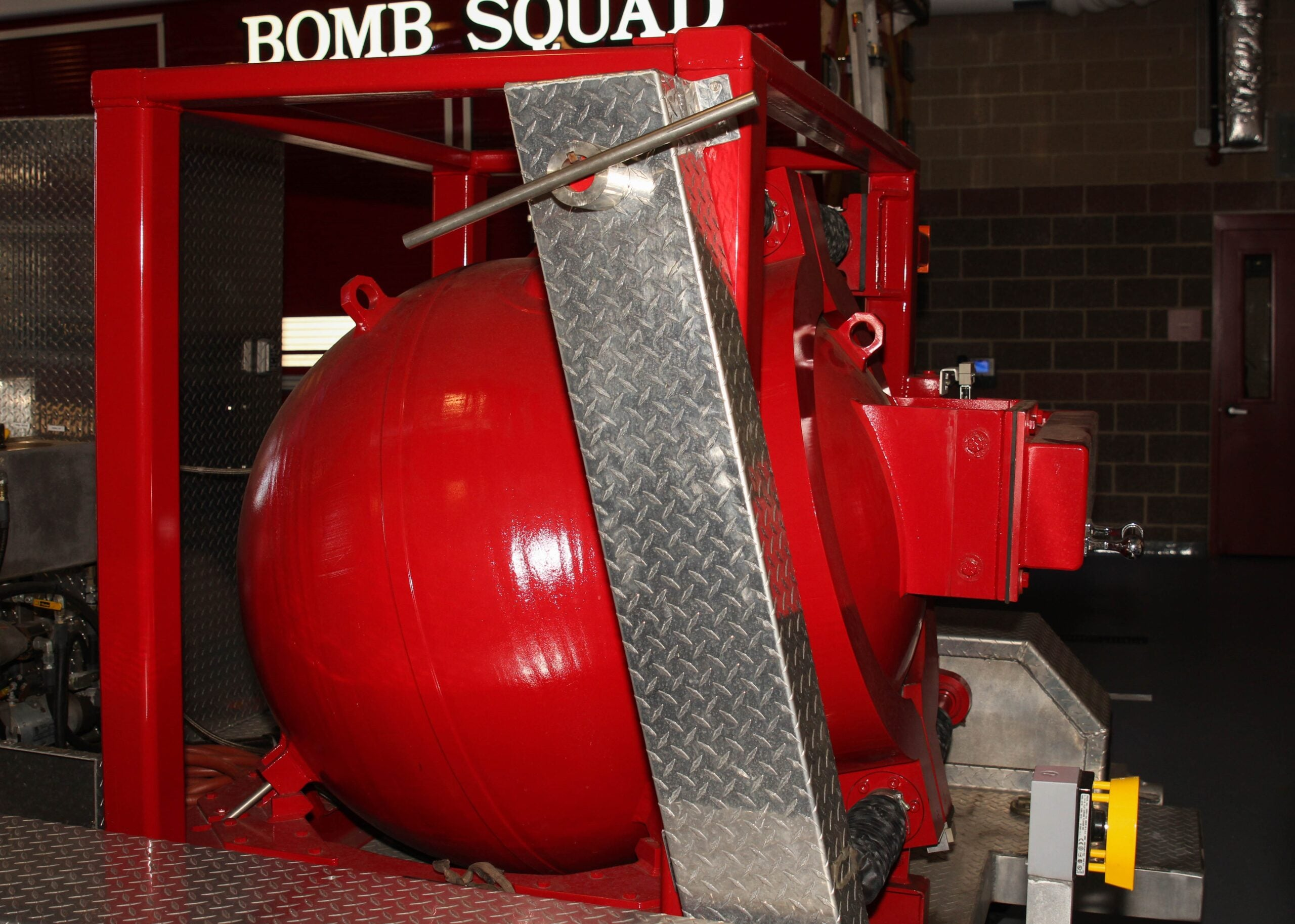 NYPD Uses Its 'Total Containment Vessel' To Safely Transport Bombs