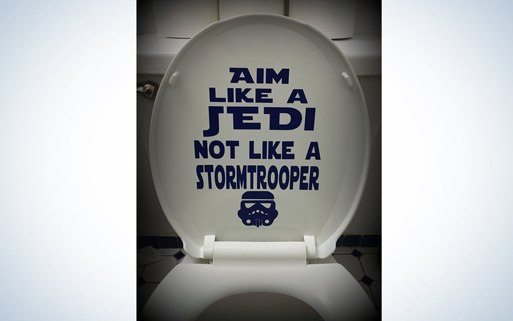Star Wars Toilet Decal