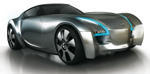 Nissan's Concept Esflow Takes the Lead on the Electric Sport Car Scene