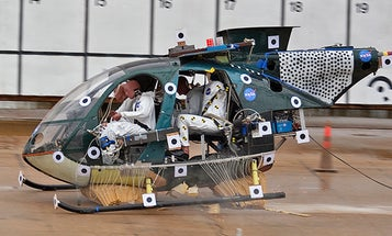 Video: NASA Drops A Helicopter From Midair to Test New Anti-Crash Tech