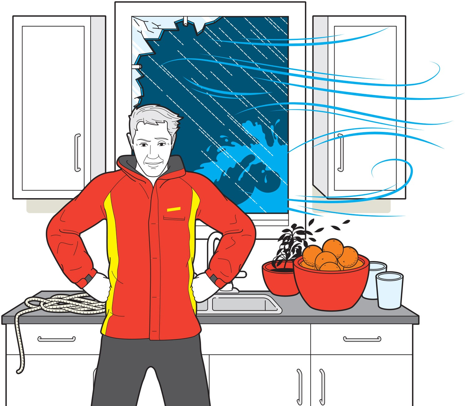 How To Survive A Hurricane With Household Items
