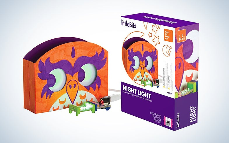 littleBits Hall of Fame Night Light kit