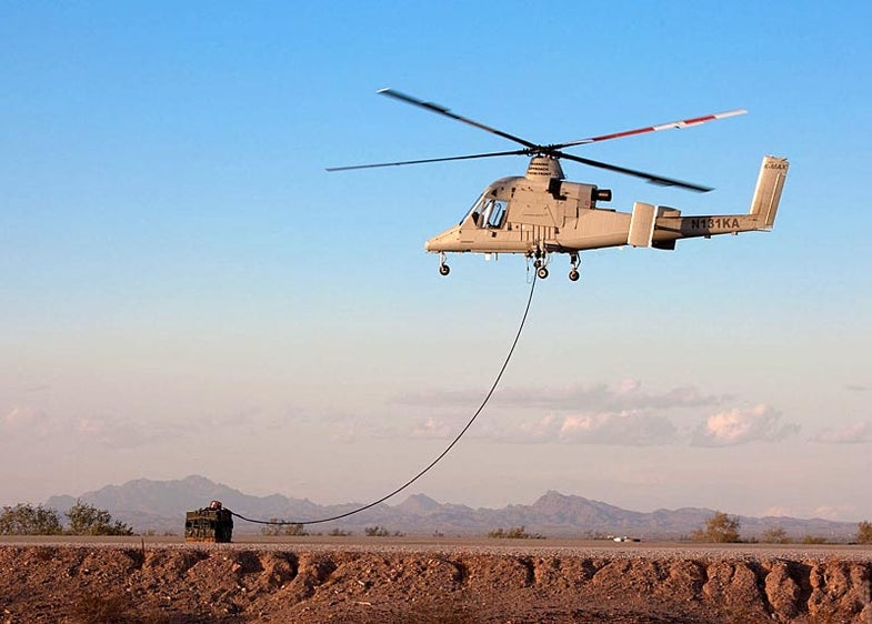 Marines in Afghanistan Execute the World's First Cargo Resupply with an Unmanned Helicopter