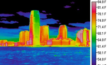 This Is What An Urban Heat Island Looks Like