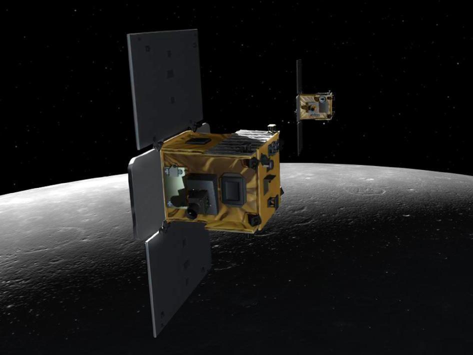 NASA's Twin Orbiters Will Crash Into The Moon On Monday