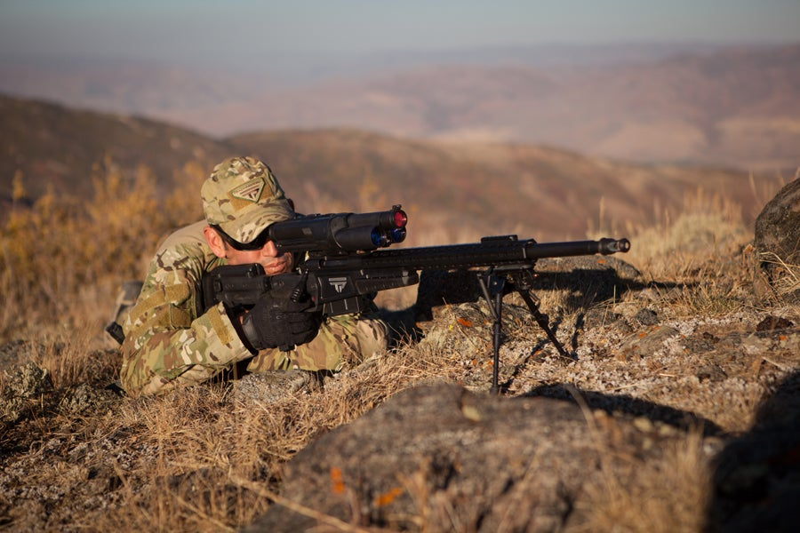 The U.S. Army Is Testing Auto-Aiming Rifles