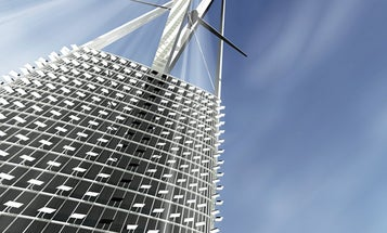 The Future of Green Architecture: A Live-In Power Plant