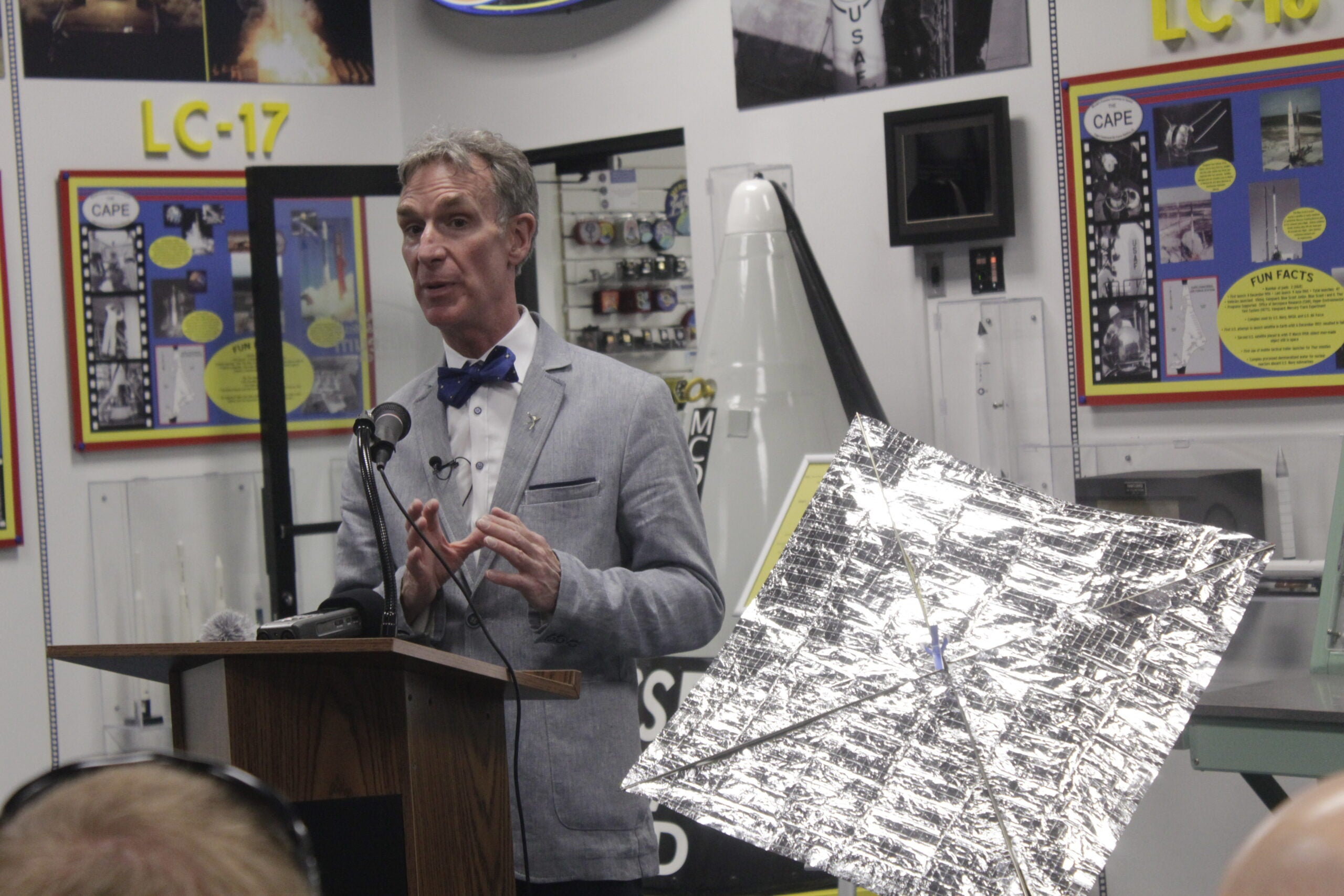 'The Science Guy' Talks About His Space Sail