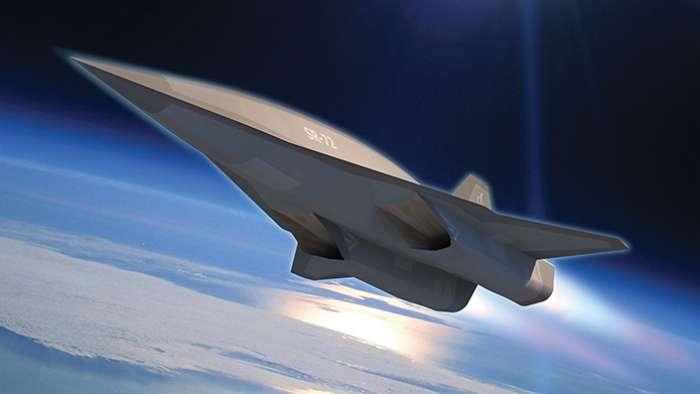 SR-72 Lockheed Martin Scramjet Hypersonic