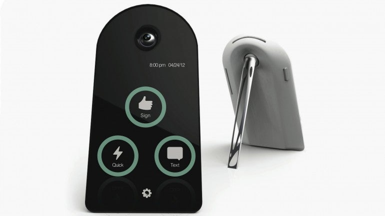 Video Device Reads American Sign Language and Translates It Into Audible English