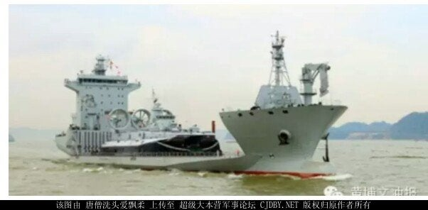 Chinese Cargo Ships Get the Military Option