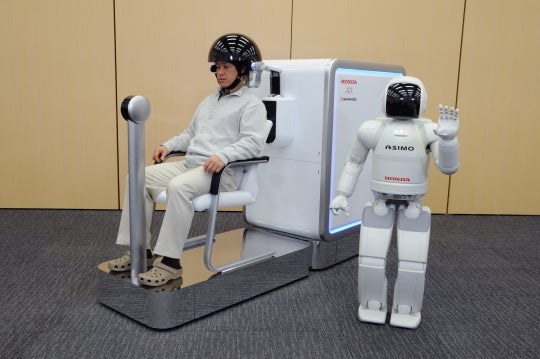 Japanese Government and Industry Aim for Mind-Controlled Robots and Electronics in 10 Years